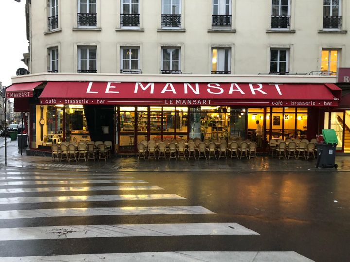 Cover for venue: Le Mansart