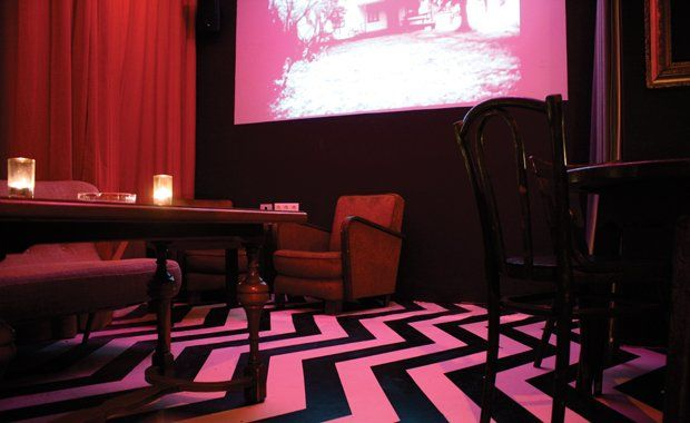 Cover for venue: The Black Lodge