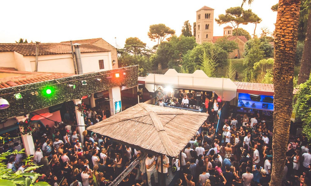 La Terrrazza Barcelona open air club