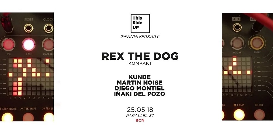 rex the dog this side up barcelona