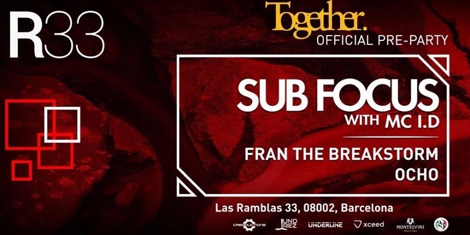 ANC Drum& Bass presents Together Official Pre-Party w/Sub Focus