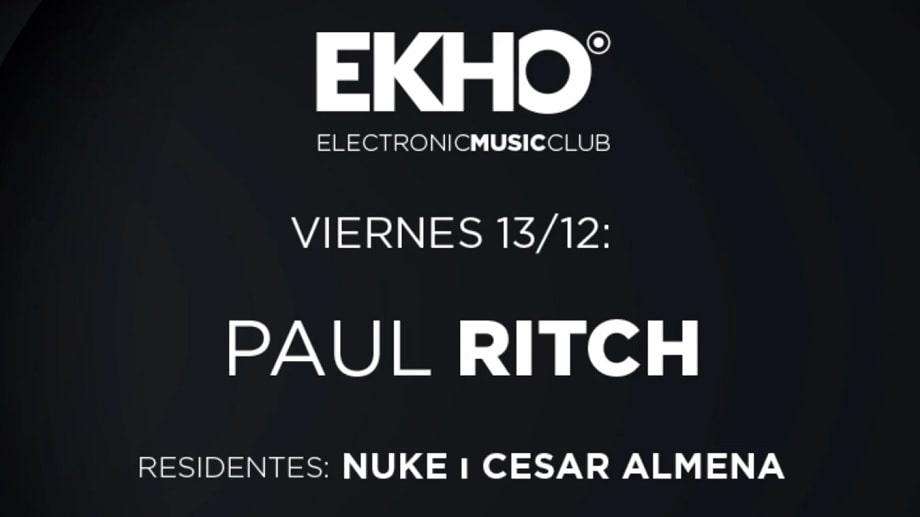 Xceed-Madrid-Ekho La Riviera-Paul Ritch