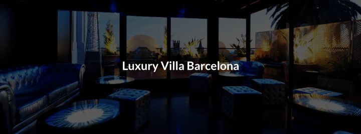 Cover for venue: Luxury Villa Barcelona