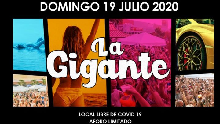 Cover for event: LA GIGANTE 2020