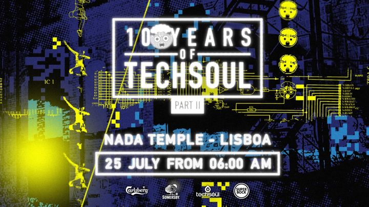 Cover for event: 10 Years Of Techsoul w/ D-Compost (UK) - Part ll