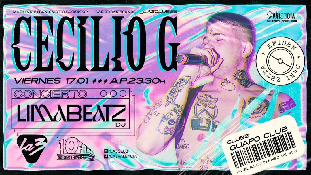 10º ANIVERSARIO: CECILIO G + LIMABEATZ. CLUB2 GUAPO event cover