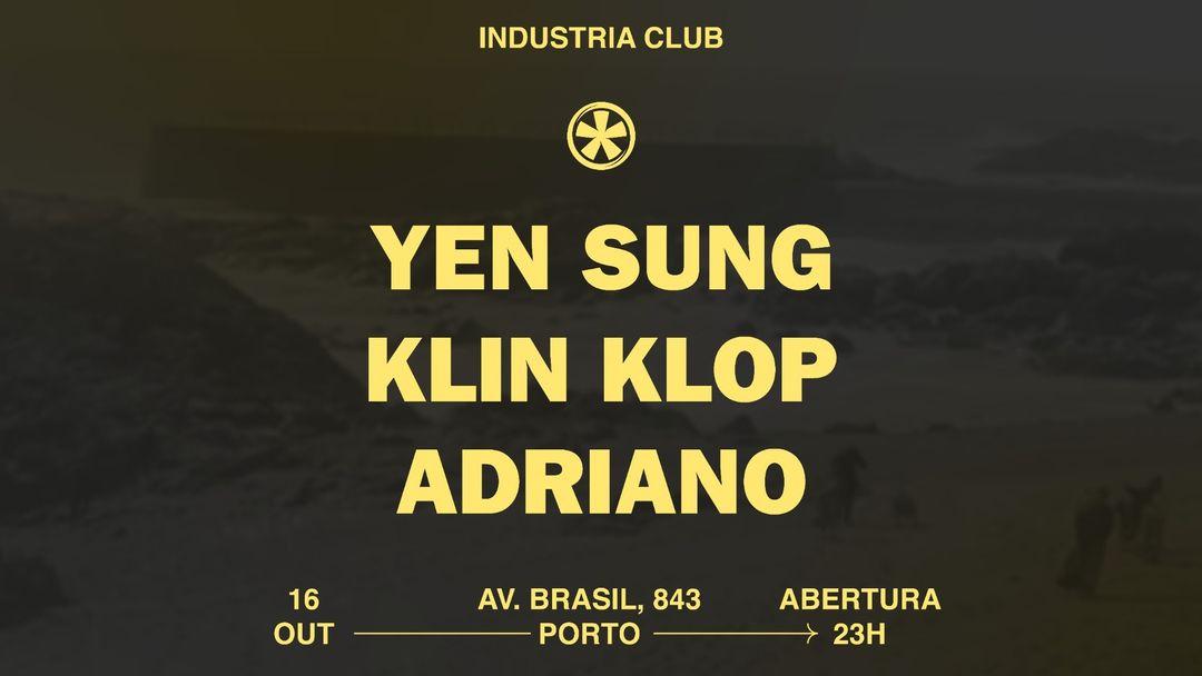 16.10 - YEN SUNG X KLIN KLOP X ADRIANO event cover