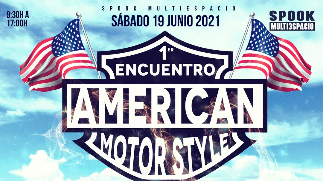 1er encuentro American MotorStyle - Limited Edition-Eventplakat