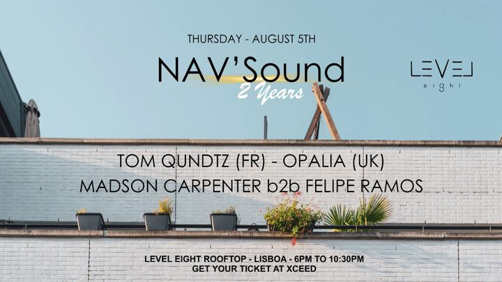 Cover for event: 2 Years of NAV'Sound at Level Eight Rooftop