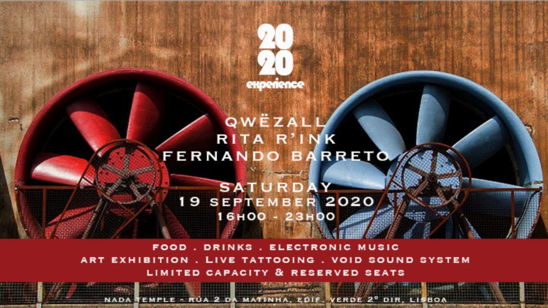 Cartel del evento 2020 | Experience II
