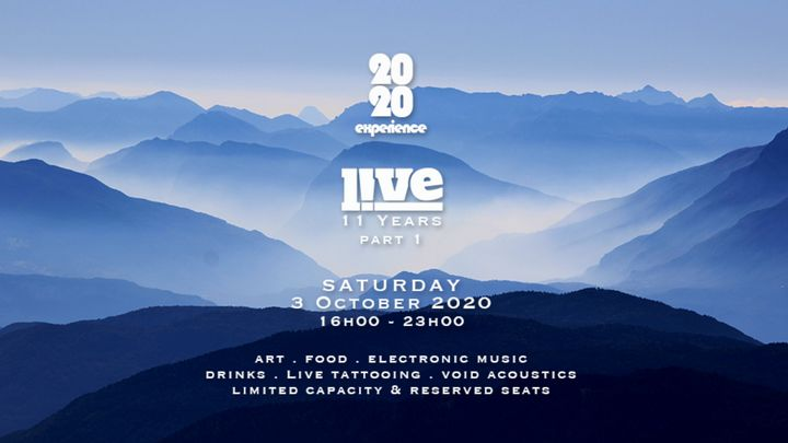 Cover for event: 2020 | LIVE 11 Years - part 1