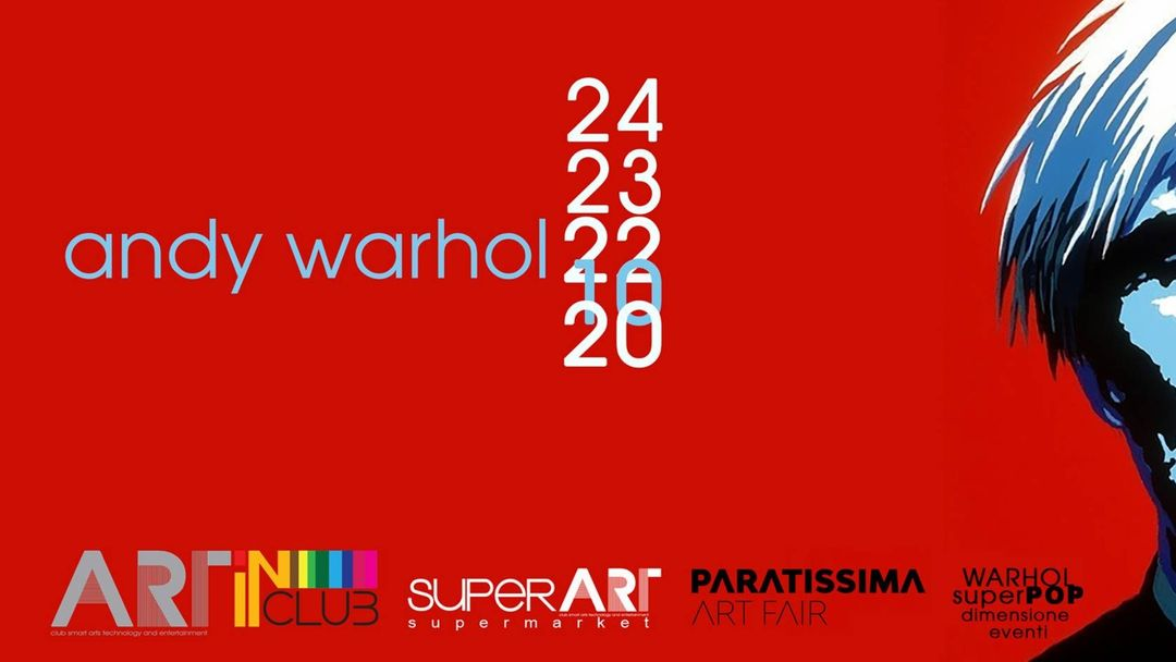 Cartell de l'esdeveniment 02*03*2021 Supermarket Opening w/ Art In Club pres. Andy Warhol