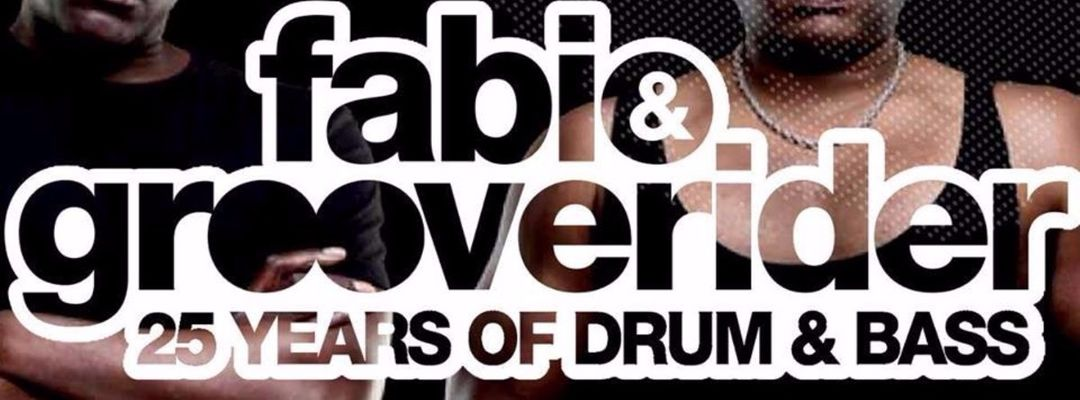 Capa do evento 25 years of Drum & Bass with Fabio & Grooverider