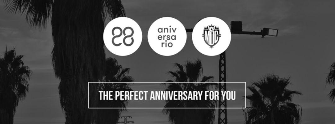 Cartell de l'esdeveniment 28 ANIVERSARIO METRO DANCE CLUB - Viernes 7, Sábado 8 y Domingo 9 Junio
