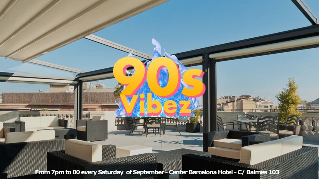 90s Vibez - Rooftoop event event cover