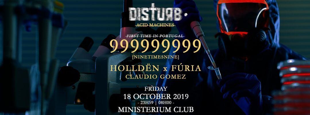 999999999 live   Disturb • Acid Machines event cover
