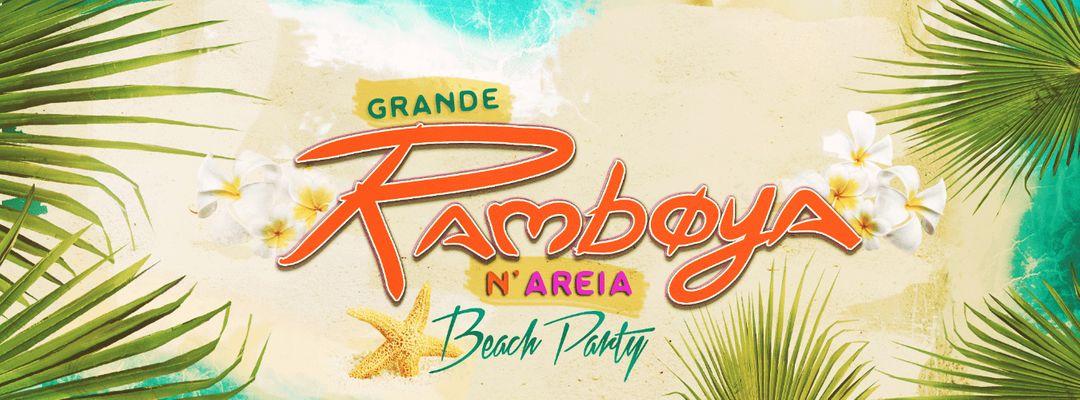Cartel del evento A Grande Ramboya n'Areia