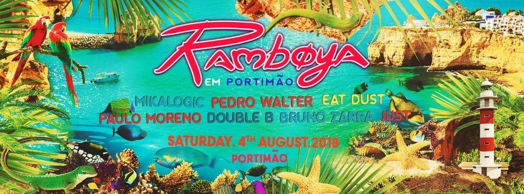Cartel del evento A maior Ramboya de sempre em Portimão!