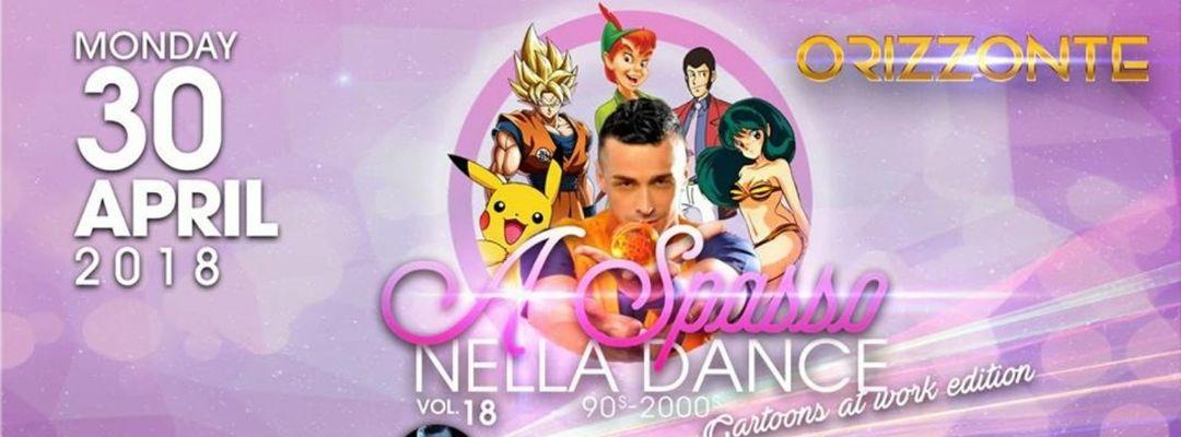 Cartel del evento A Spasso Nella Dance - Cartoon At Work Edition Guest Paolo Tuci