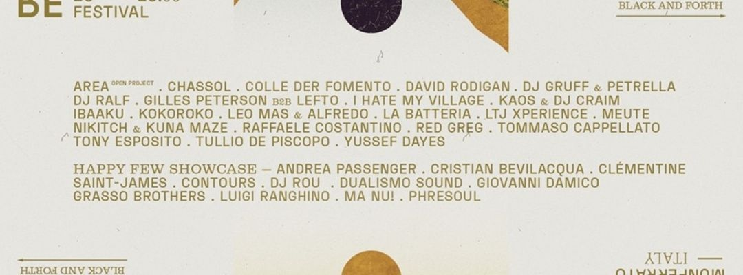 Cartel del evento Abbonamenti x Jazz:Re:Found Festival 2019 ● Monferrato