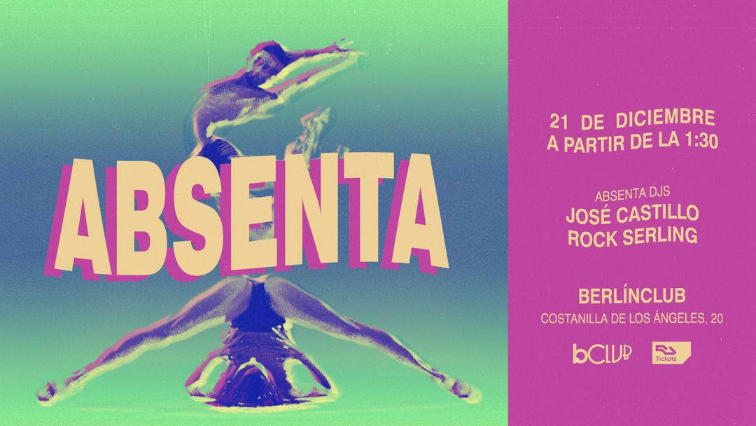 Absenta: José Castillo + Rock Serling event cover