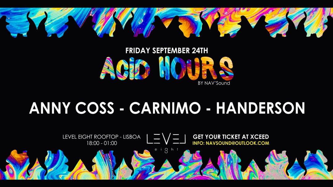 Couverture de l'événement Acid Hours #5 at Level Eight Rooftop