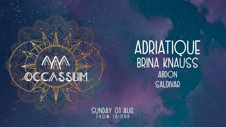 Cover for event: ADRIATIQUE - Occassum Sundays