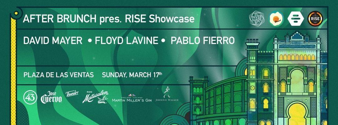 Cartell de l'esdeveniment After Brunch @Las Ventas with Floyd Lavine, David Mayer &  Pablo Fierro