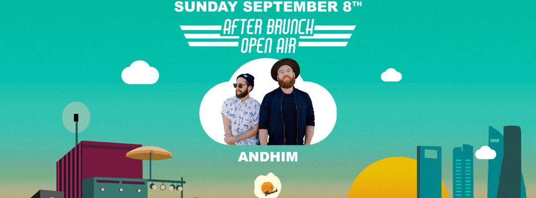 Cartel del evento After Brunch Open Air @ Autocine with ANDHIM