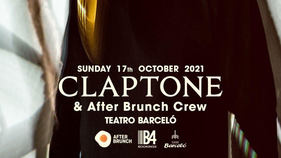 Cartel del evento After Brunch presents CLAPTONE