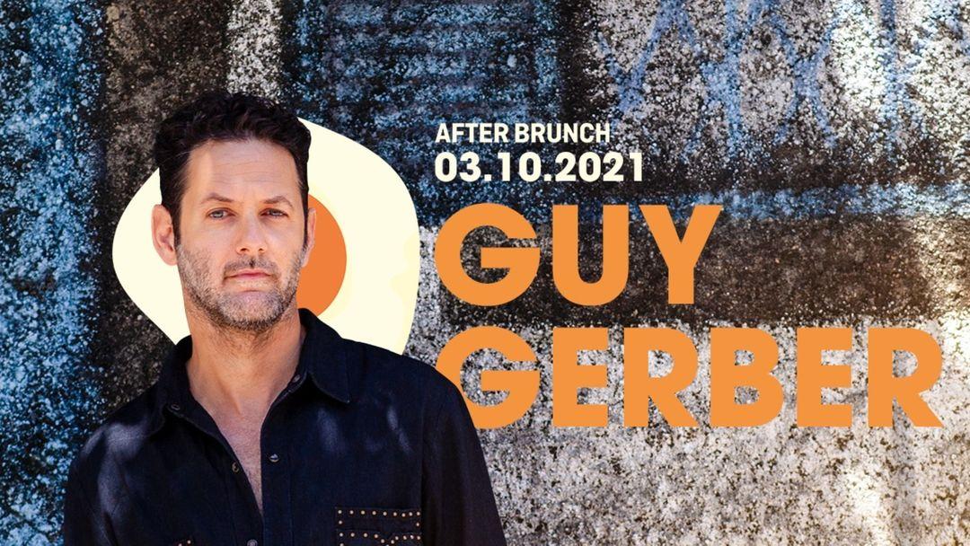 After Brunch presents Guy Gerber event cover