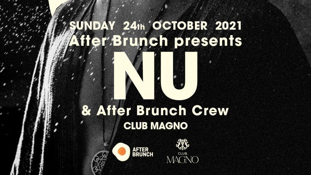 Cartel del evento After Brunch presents NU