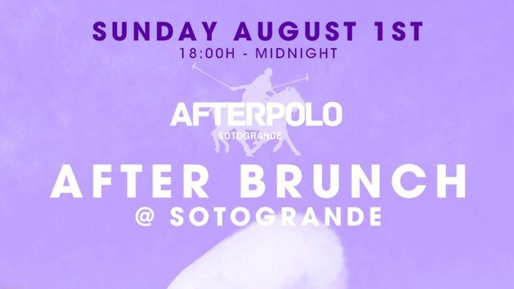 Cover for event: After Brunch @ Sotogrande #2