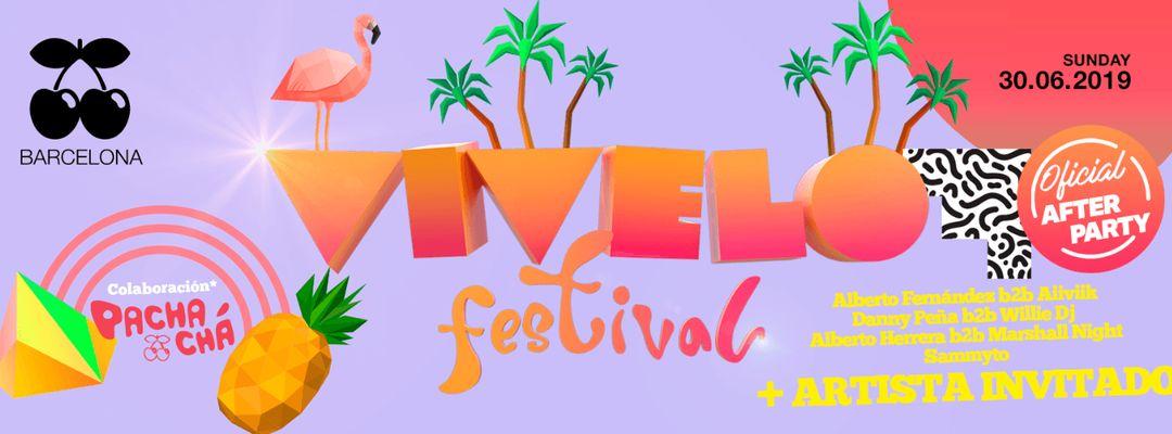 Cartel del evento AFTER PARTY Oficial - Vívelo Festival