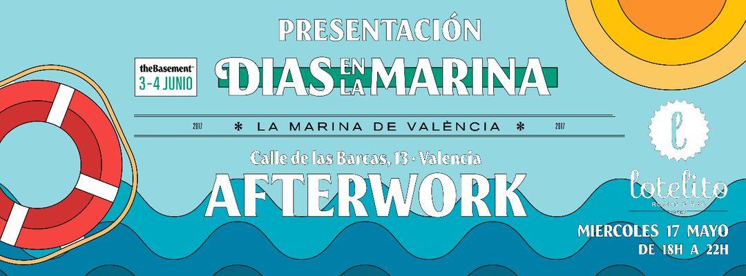 Afterwork Presentación Dias en la Marina-Eventplakat