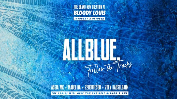 Cover for event: ALL BLUE