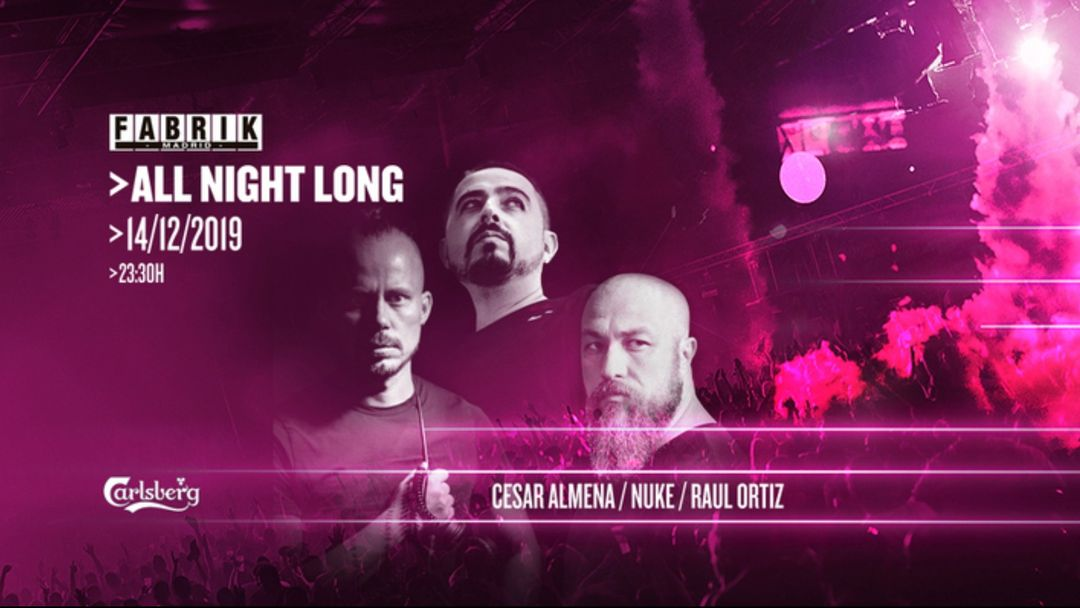 Capa do evento All Night Long
