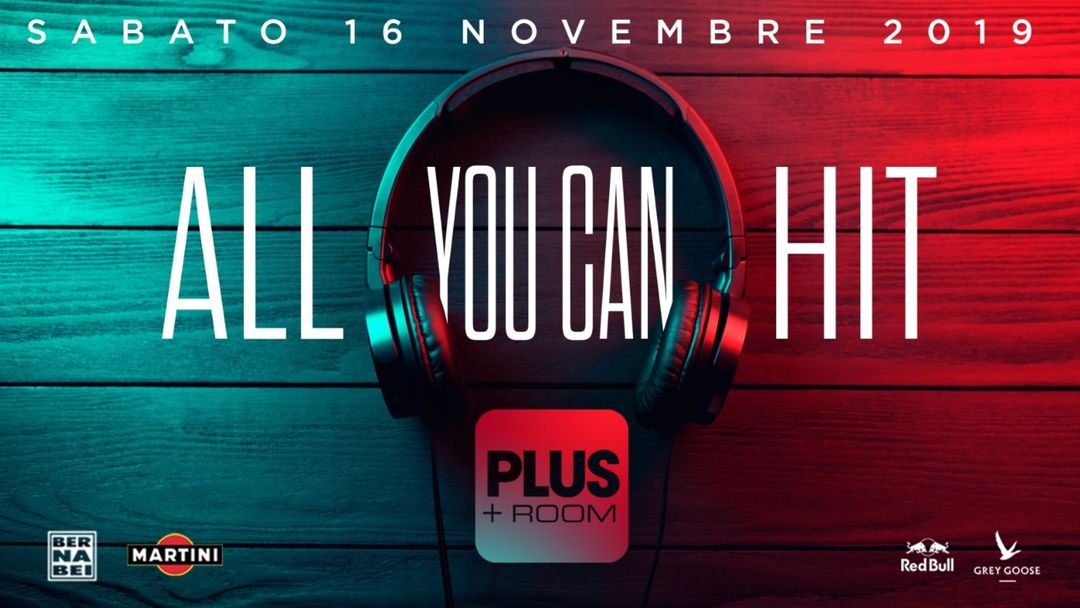 All You Can HIT ∙ Plus Room event cover