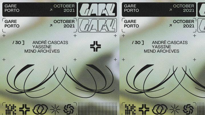 Cover for event: André Cascais + Yassine + mind archives