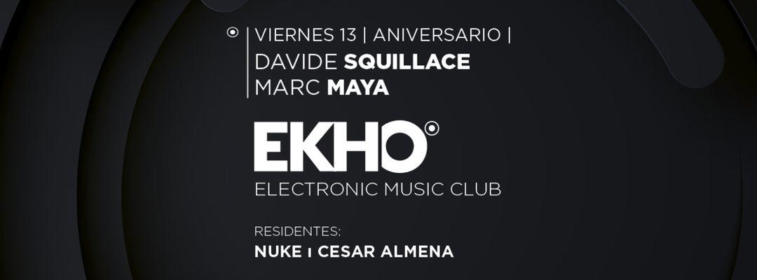 ANIVERSARIO con DAVIDE SQUILLACE y MARC MAYA event cover
