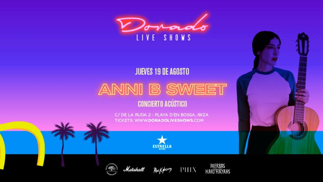 Couverture de l'événement Anni B Sweet en Dorado Live Shows
