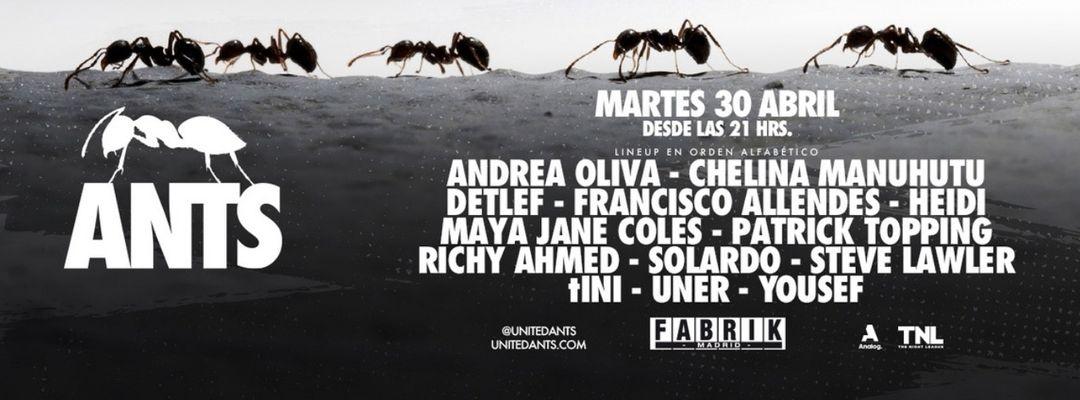 Cartel del evento ANTS