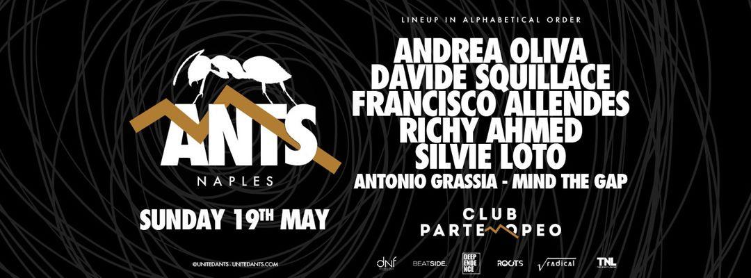 ANTS Naples-Eventplakat