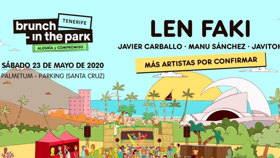 (APLAZADO) Brunch in the Park - Tenerife with Len Faki event cover