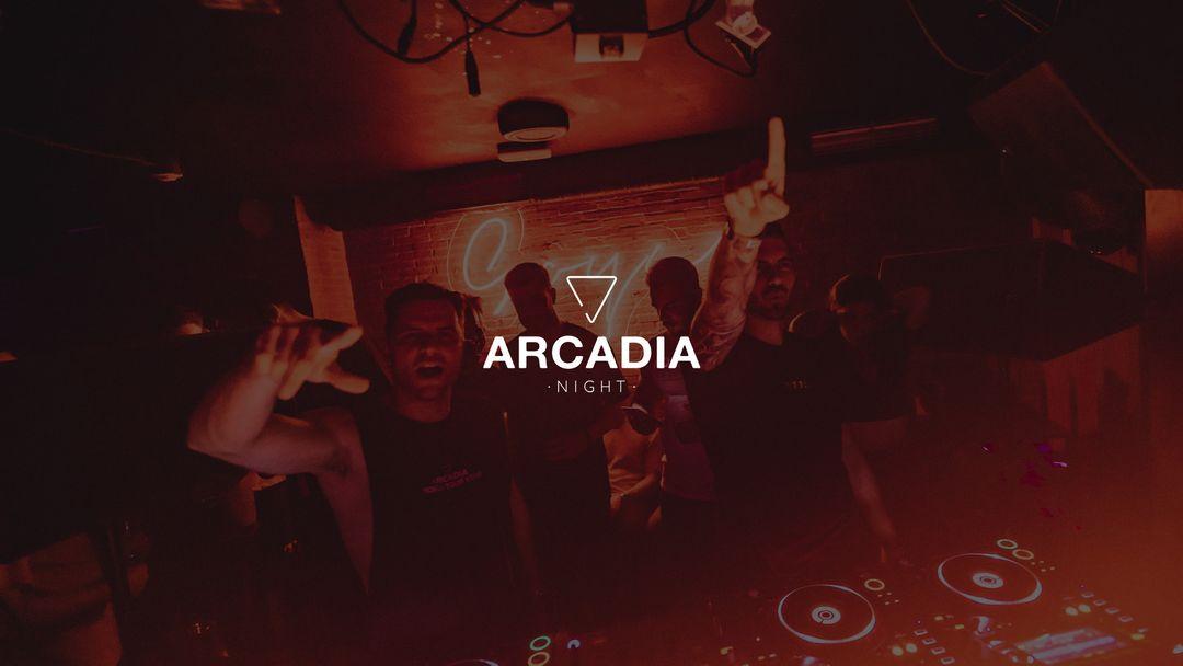 Cartel del evento Arcadia Night