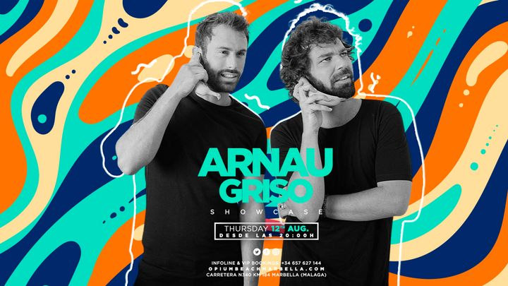 Cover for event: Arnau Griso