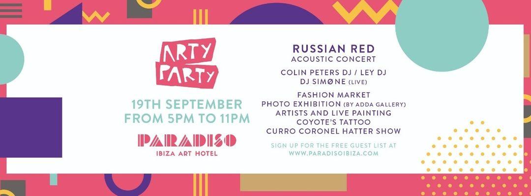 Cartel del evento Arty Party Festival