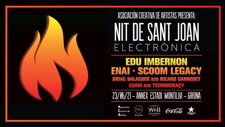 Cover for event: ASOCIACIÓN CREATIVA DE ARTISTAS PRESENTA: NIT DE SANT JOAN ELECTRONICA