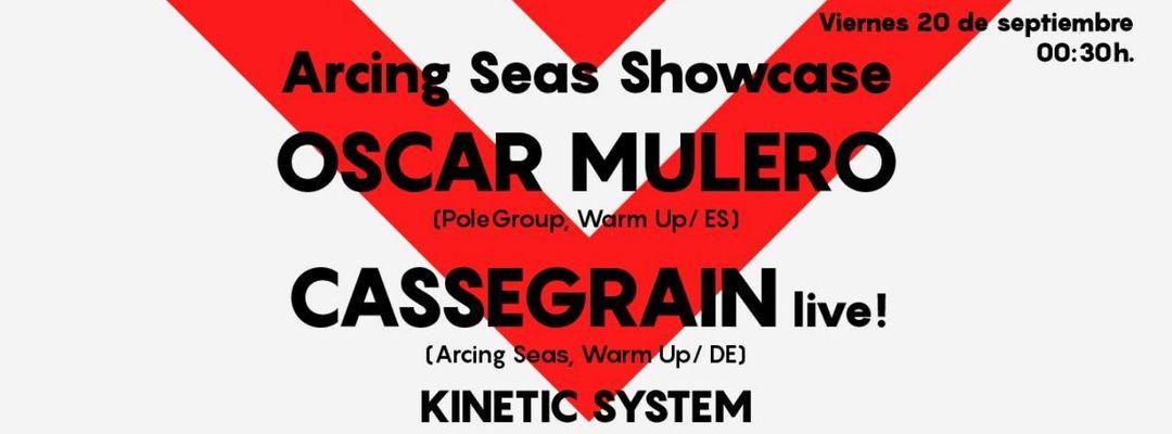 Cartel del evento Astin: Arcing Seas Showcase w/ Oscar Mulero & Cassegrain | Nitsa: Malecón - Inferno