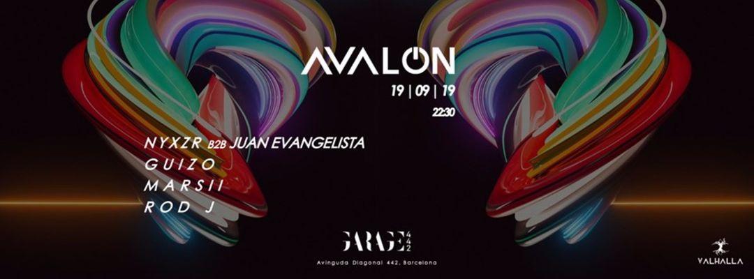 Cartel del evento Avalon # 4 @ Garage ( Free party)